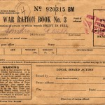 WWII U.S. Ration Book